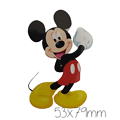 Transfert à chaud - thermocollant - Collection Mickey et Minnie