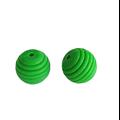 Perle ronde ruche en silicone alimentaire sans BPA 15mm