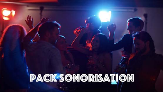 Pack Sonorisation