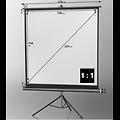 Ecran de projection sur pied 158 x 158 cm