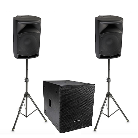 Pack Sonorisation 1200w