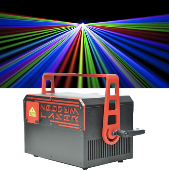 Laser RGB IDLA 7w