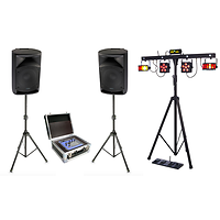 Pack Eclairage Dj Virtuel 600w