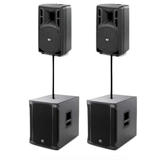 Pack Sonorisation 2200w