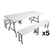 Pack tables et bancs