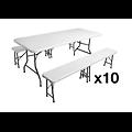 Pack tables et bancs