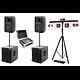 Pack Eclairage Dj Virtuel 800w