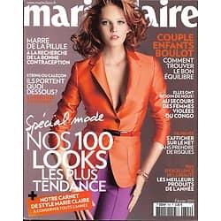 MARIE CLAIRE N°702 FEVRIER 2011  SPECIAL MODE/ SOFIA COPPOLA/ BERLING/ EQUILIBRER SA VIE
