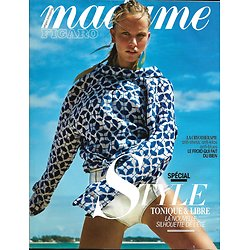MADAME FIGARO N° 22617 28 AVRIL 2017 SPECIAL STYLE/ DE WAAL/ SCHILLING/ FOOD TECH