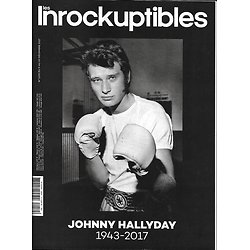 LES INROCKUPTIBLES n°1150 09/12/2017  Johnny Hallyday/ Pharrell Williams/ Black mirror/ Rencontres de Bamako