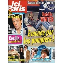 ICI PARIS n°3279 6 mai 2008  Ophélie Winter/ Courbet/ Pitt & Jolie Nouvelle Star/ M.Darc/ J.Martin