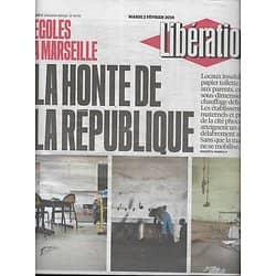 LIBERATION n°10792 02/02/2016  Ecoles de Marseille: la honte de la République/ Virus Zika/ T.Solère/ Triche cyclo-cross