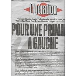 LIBERATION n°10773 11/01/2016  Pour une Primaire à gauche/ Sean Penn/ Courrèges/ Rondeau/ Volkswagen/ Ben Yedder