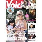 VOICI n°1574 05/01/2018  Laeticia Hallyday/ M.Seigner/ R.Wright/ Les 18 femmes de 2018/ Wahlberg/ Barré