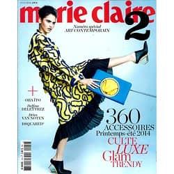 MARIE CLAIRE 2 N°19H  NUMERO SPECIAL ART CONTEMPORAIN
