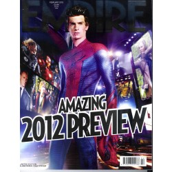 EMPIRE N°272 FEBRUARY 2012   AMAZING SPIDERMAN/ PREVIEW/ STREEP/ FIENNES