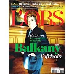 L'OBS N°2610 13 NOVEMBRE 2011  BALKANY L'AFRICAIN/ BLAIR/ STROMAE