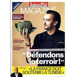 AUJOURD'HUI EN FRANCE MAGAZINE n°4165  CYRIL LIGNAC/ HUMOURISTES