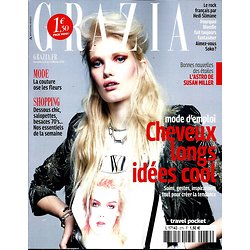 GRAZIA (POCKET) N°279  CHEVEUX LONGS/ SOKO/ DEBBIE HARRY/ ASTRO 2015