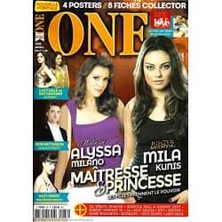 ONE n°88 juin-juillet 2014 MILANO/ KUNIS/ PERRY/ PATTINSON/ SPECIAL LOVE/ HALE