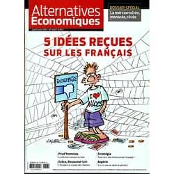 ALTERNATIVES ECONOMIQUES N°348 JUILLET-AOUT 2015  IDEES RECUES SUR LES FRANCAIS/ DOSSIER MER