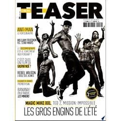 "CINEMA TEASER N°46 ETE 2015  ""MAGIC MIKE XXL"" TATUM/ ""MISSION: IMPOSSIBLE"" CRUISE/ ""TED 2"" WAHLBERG"