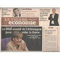 LE FIGARO n°20889 30/09/2011  Sauver la Grèce/ Obama/ DSK & Banon/ TGV Afrique/ Empereurs chinois/ Système D santé