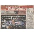 LE FIGARO n°23848 23/04/2021  Bourse: la criante d'un krach/ Thomas Pesquet de retour dans l'espace