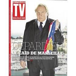 TV MAGAZINE N°22313 08/05/2016  DEPARDIEU/ EUROVISION/ AMIR/ DEMPSEY/ LAFITTE