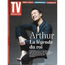 TV MAGAZINE N°22325 22/05/2016 ARTHUR/ LAPIX/ LUTZ/ TURNER/ PORTMAN/ MESSING