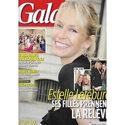 GALA n°1242 29/03/2017  Estelle Lefébure & ses filles/ Historique: 17 Miss France/ Exclusif: Pascal Obispo/ Michèle Bernier/ Bob Dylan/ Scarlett Johansson