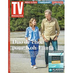 TV MAGAZINE N°22576 12/03/2017  KOH-LANTA, BROGNIART&LAROCHE-JOUBERT/ SILVA/ CUMBERBATCH/ SHADES OF BLUE