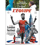 L'EQUIPE MAGAZINE N°1799 7 JANVIER 2017  LONDON FOOTBALL WEEK/ GIROUD/  YASUBELE/LE GOUROU DE DJOKOVIC