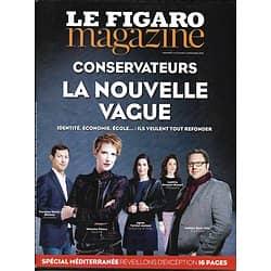"""LE FIGARO MAGAZINE N°22492 02/12/2016  CONSERVATEURS/ LES SEYCHELLES/ SACRE DES ROIS DE FRANCE/ FEMMES DU """"CHARLES-DE-GAULLE"""""""