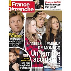 """FRANCE DIMANCHE n°3674 27/01/2017 LES GRIMALDI/ DELAHOUSSE/ KERUSORE/ SANSON/ """"TITANIC"""""""