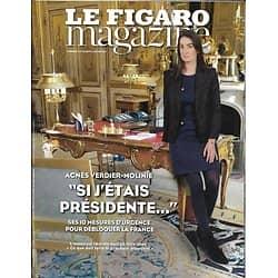 LE FIGARO MAGAZINE N°22522 06/01/2017 VERDIER-MOLINIE/ BIBLIOTHEQUE NATIONALE/ FORCES FRANCAISES AU MALI