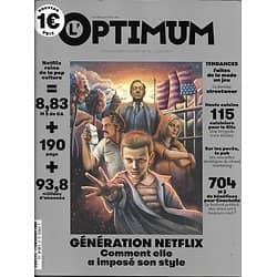 L'OPTIMUM n°92 AVRIL 2017  DOSSIER GENERATION NETFLIX/ CUISINE DU RITZ/ BERLINETTE
