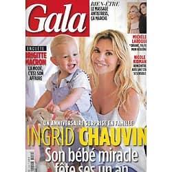 GALA n°1254 21/06/2017  Ingrid Chauvin/ Brigitte Macron/ Michèle Laroque/ Nicole Kidman/ Loris Azzaro