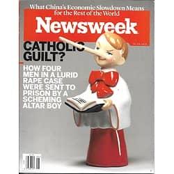 NEWSWEEK VOL.166 N°04 29 JANVIER 2016 CULPABILITE CHRETIENNE?/ CASQUES BLANCS DE SYRIE/ CAUCHEMAR ECOLOGIQUE