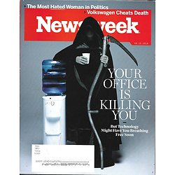 NEWSWEEK VOL.166 N°22 10 JUIN 2016  Votre bureau vous tue/ Réchauffement climatique/ L.A. County Sheriff'S Department