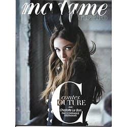 MADAME FIGARO n°22552 10/02/2017  CHARLOTTE LE BON/ CONTES COUTURE/ TRUMP&HOLLYWOOD/ CAVIAR