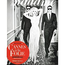 MADAME FIGARO n°22629 12/05/2017  MONICA BELLUCCI/ SPECIAL CANNES/ FREMAUX & ALMODOVAR