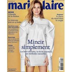 MARIE CLAIRE n°777 mai 2017 Julia Roberts/ Mincir simplement/ Couple/ Mauriac/ Exarchopoulos & Haenel