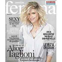 VERSION FEMINA N°786 24/04/2017  ALICE TAGLIONI/ DUVAUCHELLE/ SEXY EPAULES/ RIZ DE FOLIE