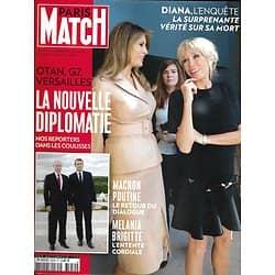 PARIS MATCH N°3550 1er JUIN 2017  MACRON: LA NOUVELLE DIPLOMATIE/ DIANA-LADY DI/ CANNES GLAMOUR/ HORREUR A MANCHESTER/ COUPE DE L'AMERICA