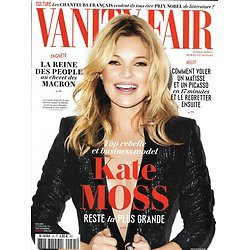 VANITY FAIR n°45 avril 2017  Kate Moss/ La conseillère des Macron/ Kim Basinger/ Marion Maréchal-Le Pen/ H.S. Thompson