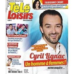 TELE LOISIRS N°1627 06/05/2017  LIGNAC/ CARAT/ PERNOUD/ DIX POUR CENT/ JANE GOODALL