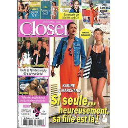 CLOSER N°628 23/06/2017 LE MARCHAND/ HALLYDAY/ BEYONCE/ GIROUD/ LOPEZ/ NADAL/ GADOT