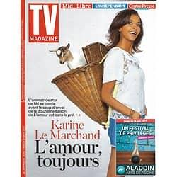 """TV MAGAZINE N°22660 18/06/2017  LE MARCHAND """"L'AMOUR EST DANS LE PRE""""/ NINJA WARRIOR/ RANSOM/ C.CERF/ GAROU"""