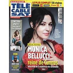 TELECABLE SAT HEBDO n°1410 13/05/2017 BELLUCCI/ SPECIAL CANNES/ ELBA/ PATROUILLE DE FRANCE